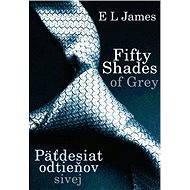Fifty shades of Grey - Päťdesiat odtieňov sivej [SK] - E L James