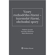 Vzory rozhodčího řízení - tuzemské řízení, obchodní spory - Vladimír Syruček