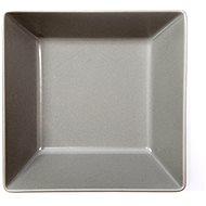 ELITE Talíř hluboký čtvercový 17,5x17,5cm šedý, sada 6ks - Talíř