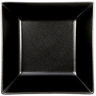 ELITE Talíř hluboký čtvercový 17,5x17,5cm černý, sada 6ks - Talíř