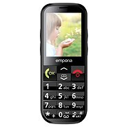 Emporia ECO Black - Mobile Phone