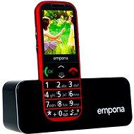 Emporia ECO červená - Mobilní telefon
