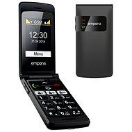 Emporia FLIP basic černý - Mobilní telefon