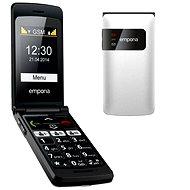 Emporia FLIP basic bílý - Mobilní telefon
