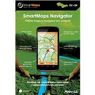 SmartMaps Navigator pro Android (elektronická licence)