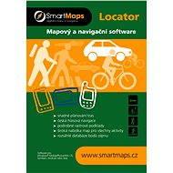 SmartMaps Locator Podrobná mapa SR 1:10 000 (elektronická licence)