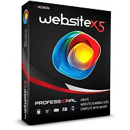 Website X5 Professional 10 (elektronická licence)