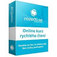 Rozečti.se - online výučba rýchleho čítania pre firmy (5 užívateľov)