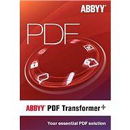 ABBYY PDF Transformer + (elektronická licence)