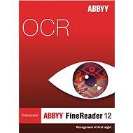 ABBYY FineReader 12 Professional CZ (elektronická licencia)