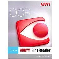 ABBYY FineReader Pre for Mac Upgrade (elektronická licencia)