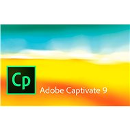 Adobe Captivate 9 MP ENG (elektronická licencia)