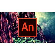 Adobe Animate Creative Cloud (Flash Pro) MP ML (vr. CZ) Commercial (12 mesiacov)
