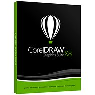 CorelDRAW Graphics Suite X8 Upgrade WIN (elektronická licence)
