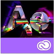 Adobe After Effects Creative Cloud MP ENG Commercial (12 měsíců) (elektronická licence)