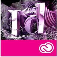Adobe InDesign Creative Cloud MP ML (vr. CZ) Commercial (1 mesiac)