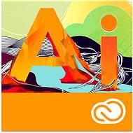 Adobe Illustrator Creative Cloud MP ML (vč. CZ) Commercial (12 měsíců) (elektronická licence)