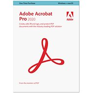 Acrobat Pro DC (12) MP ENG NEW COM Lic 1+ (450) (elektronická licence)
