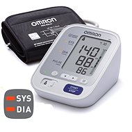 OMRON M3 with colour indicator of hypertension