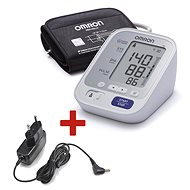 OMRON M3 with color indicator hypertension + power source