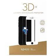 Epico Glass 3D + für iPhone 6 und iPhone 6S Weiß - Schutzglas