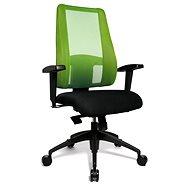 TOPSTAR Lady Sitness Deluxe zeleno / čierna