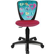 TOPSTAR S´COOL NIKI motiv srdce - Dětská židle