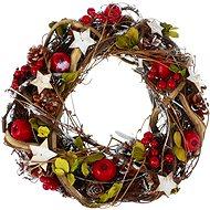 Vánoční dekorativní věnec typ 600-40495