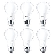 Philips LED 8-60 W, E27, 2700K, matná, set 6 ks