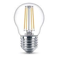 Philips LEDClassic Filament kvapka Retro 4-40W, E27, 2700K, číra - LED žiarovka