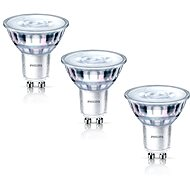 Philips LEDClassic spot 4.6-50W, GU10, 2700K, set 3ks - LED žiarovka