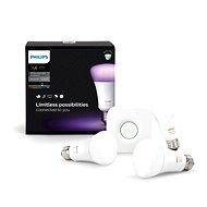 Philips Hue White and Color ambiance 10W E27 starter kit - LED bulb