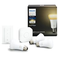 Philips Hue White Ambiance 9.5W A60 Starter-Kit - LED-Lampen