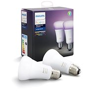 Philips Hue White and Color ambiance 10W E27 set 2ks - LED žárovka