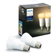 Philips Hue White Ambiance 8.5W A60 set 2ks - LED žárovka