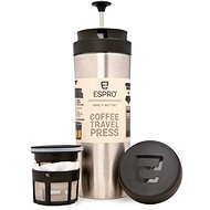 ESPRO Travel Press Edelstahl