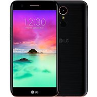 LG K10 (M250N) 2017 Dual SIM Black - Mobile Phone