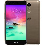 LG K10 (M250N) 2017 Dual SIM Gold - Mobile Phone