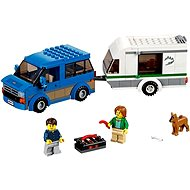 LEGO City 60117 Van & Caravan - Building Kit
