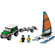 LEGO City 60149 Geländewagen mit Katamaran - Baukasten