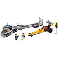 LEGO City 60151 Transporter dragster