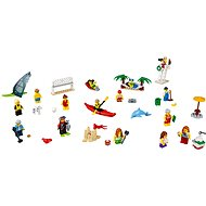 LEGO City Town 60153 Set of characters - Fun on the beach - Building Kit