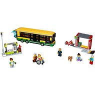 LEGO City Town 60154 Bus stop - Building Kit