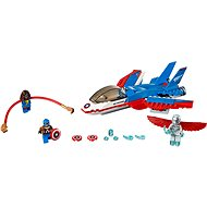 LEGO Super Heroes 76076 Captain America Jet Pursuit - Building Kit