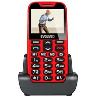 EVOLVEO Easyphone XD rot-silber