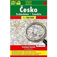 Česko Tschechien Czechia 1:500 000: automapa - aktualizace 2013 - Kniha