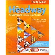 New Headway Pre-Intermediate Maturita Fourth Edition Student´s Book + iTutor DVD: Czech Edition - Kniha