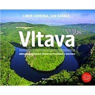 Vltava: Obrazové putování řekou od pramene k soutoku + CD + Mapa - Kniha
