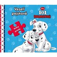 101 dalmatinů Veselí pejskové: Kniha puzzle - Kniha