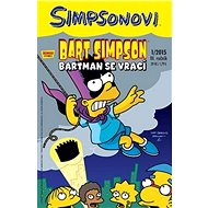 Bart Simpson Batman se vrací: 42005 - Kniha